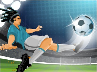 the champions 3d - Soccer worldcup